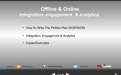 SOSTAC ® Planning – integration, engagement & analytics